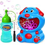 WisToyz Bubble Machine Super Dog Bubble Blower 500+ Bubbles Per Minute, Bubble Machine for Kids Toddlers Toy Baby Bath…