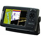 Lowrance Elite-7 Base Combo Dual-imaging Chartplotter with 83/200/455/800 KHz HD Skimmer (Discontinued by Manufacturer)