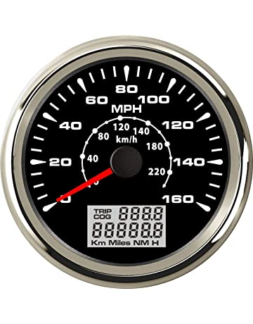 ELING MPH GPS Speedometer Velometer 160MPH 220KM/H Trip Counter Odometer for Car Racing Motorcycle