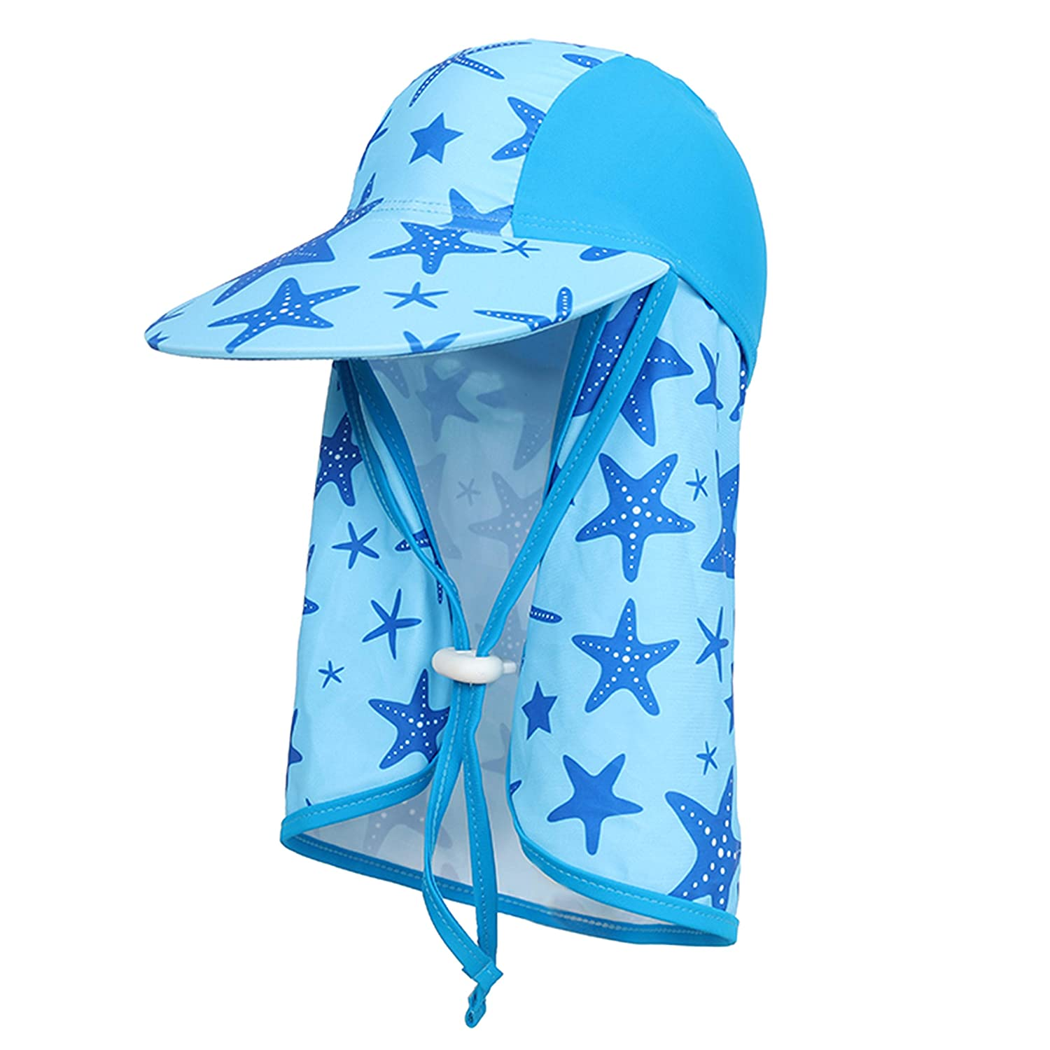 UPF Protection Baby Swimming Boating Cycling Fishing Cap Outdoor Sport Hat RUXIYI Kids Summer Sun Hat Summer Visor UV Sun Protection Hat,Quick-Dry Beach Hat 50
