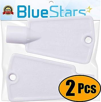 Blue Stars 297147700 - Juego de 2 llaves de repuesto para puerta ...