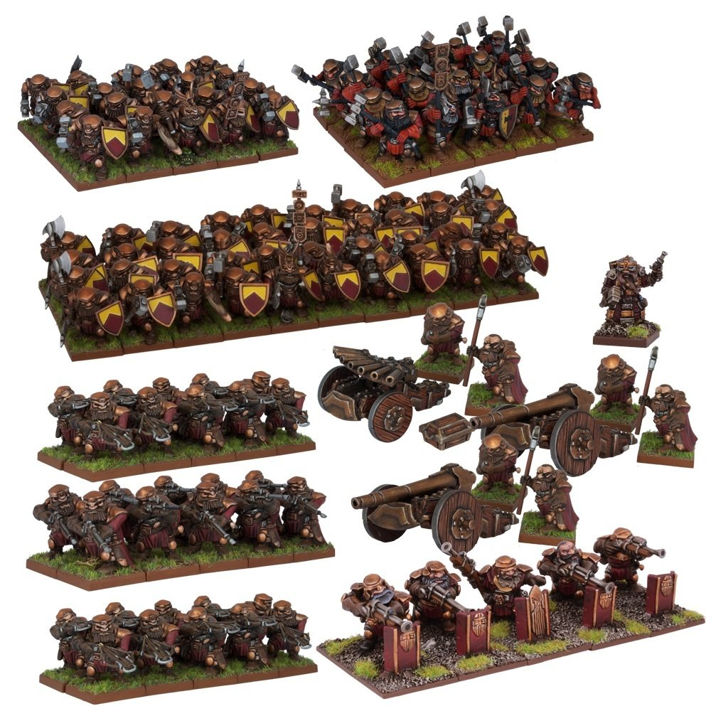 Dwarf Mega Army SW by Mantic Entertainment (Image #1)
