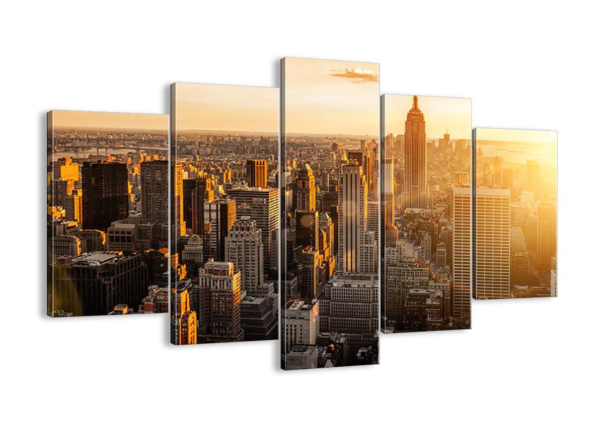 Bild auf Leinwand - Leinwandbilder - fünf Teile - Breite  150cm, Höhe  100cm - Bildnummer 2672 - fünfteilig - mehrteilig - zum Aufhängen bereit - Bilder - Kunstdruck - EA150x100-2672