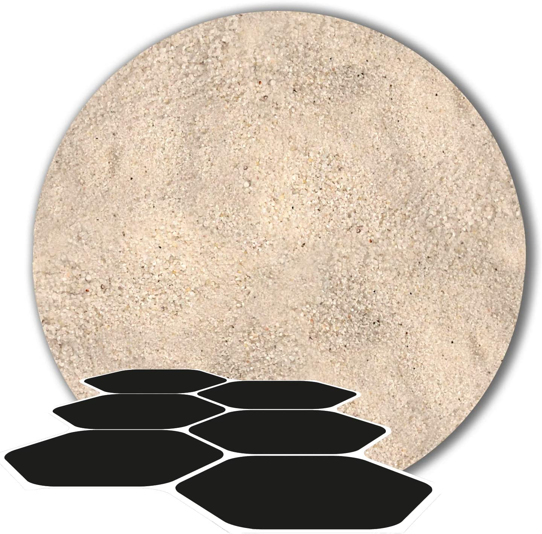 25 kg Fugensand Einkehrsand Quarzsand wei/ß naturwei/ß 0,1-0,4 mm