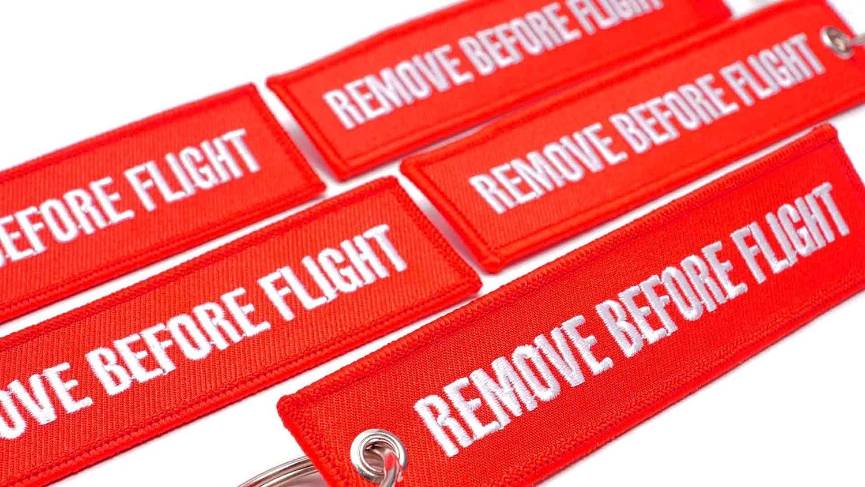 Retirer Avant vol Scooter VTT UTV KEYTAILS Porte-cl/és de qualit/é sup/érieure pour Moto Voiture Insert Before Flight