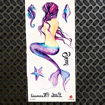 GVDTYKJF Tatuajes Temporales Acuarela Dibujo Tatuajes ...