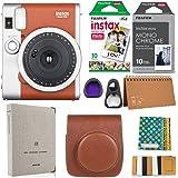 Fujifilm Instax Mini 90 Instant Camera + Fuji Instax Film (20 Sheets) + Giant Accessories Bundle(12 piece)