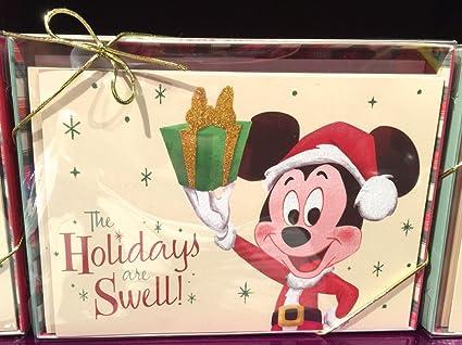 Amazon disney parks retro holiday christmas greeting cards disney parks retro holiday christmas greeting cards mickey mouse holidays are swell new m4hsunfo