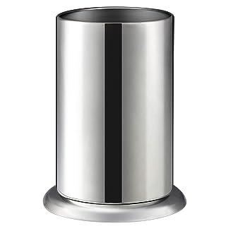"""MyLifeUNIT Counter-top Straw Dispenser, Stainless Steel Straw Holder Organizer 6.3"""" x 4"""""""