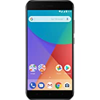 "Xiaomi Mi A1 - Smartphone Libre DE 5.5"" (4G, WiFi, Bluetooth, Snapdragon 625 2.0 GHz, 64 GB de ROM Ampliable con microSD, 4 GB de RAM, Cámara Dual DE 12 MP, Android One), Negro [Versión Española]"