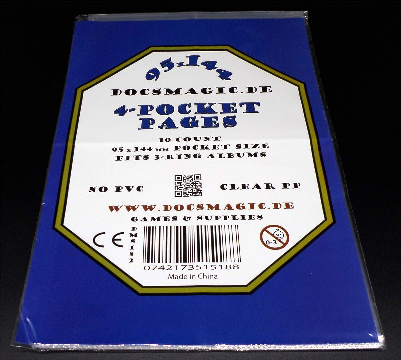 219 x 285 mm Pagine 11-Hole Photo Magazine docsmagic.de 10 1-Pocket Album Pages 8.5 x 11