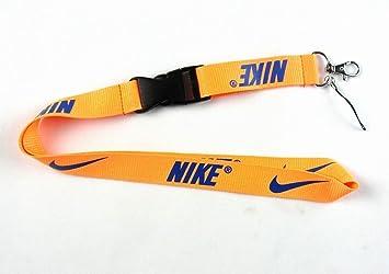 Nike Lanyard muchos colores desmontable Llavero: Amazon.es ...