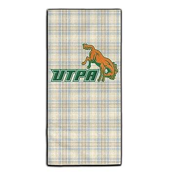 utpa Broncs 1 Logo viajes y deportes Yoga gimnasio baño cara toalla: Amazon.es: Hogar