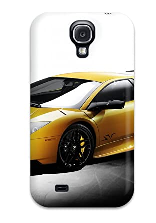 Waterdrop Snap On Yellow Lamborghini Wallpaper Case For Galaxy S4