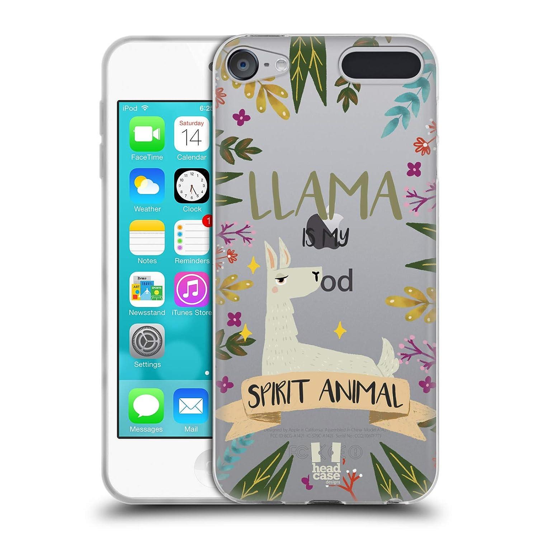 Head Case Designs Volpe Raffigurazioni Animali Spirituali Cover in Morbido Gel Compatibile con Touch 6th Gen//Touch 7th Gen