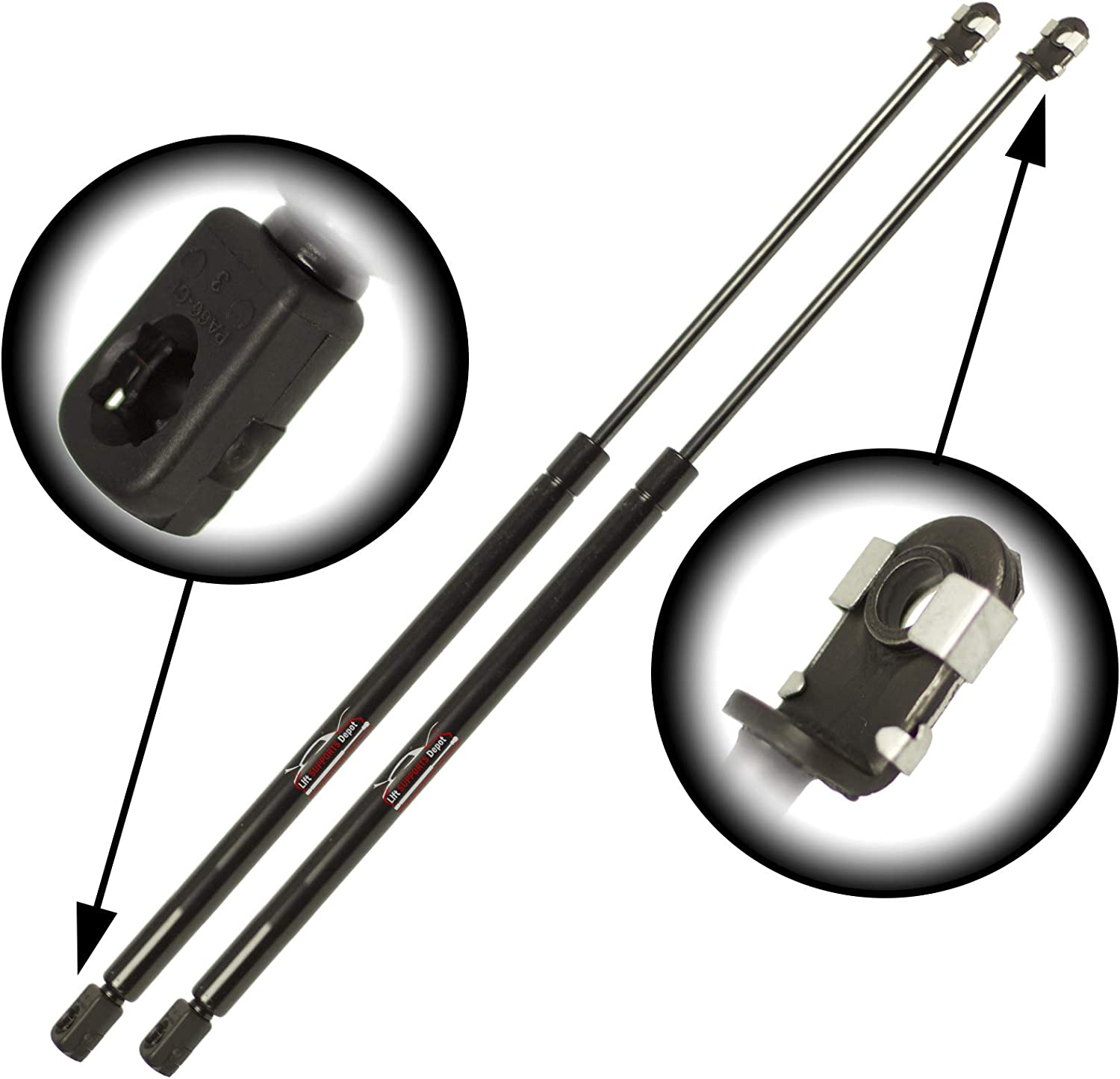 Qty 2 Fits IS300 IS250 IS350 2006 To 2015 Rear Trunk Lift Supports excluding convertible