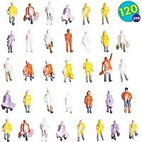 120 Figuras de tren de colores - Juguete
