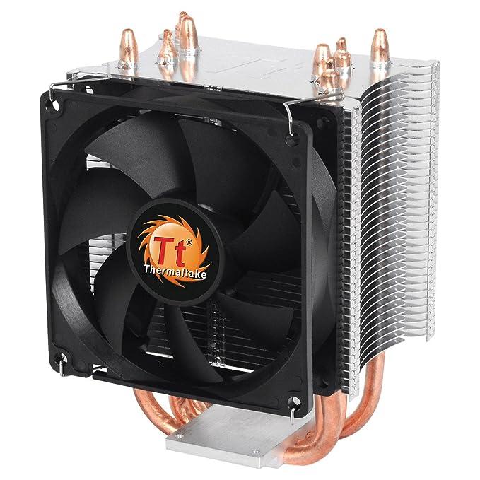15 opinioni per Thermaltake CLP0600 Ventola da Raffreddamento per CPU, Nero/Antracite