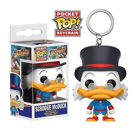 Funko Pop!- DuckTales Llavero de Vinilo Scrooge McDuck, (20064)