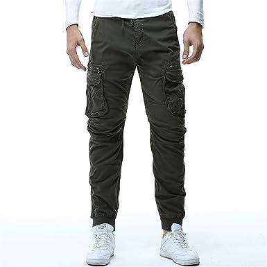 2d6add11c Tactical Cargo Pants Men Joggers Boost Military Casual Cotton Pants ...