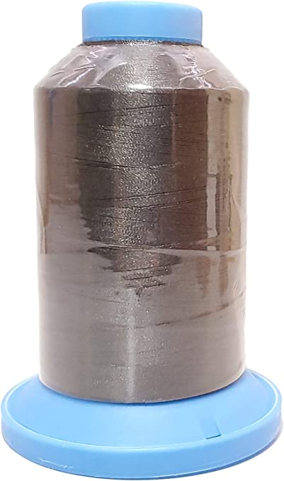 120//2 Polyester A/&E Robison-Anton Machine Embroidery Thread #122 Super Bright Polyester 40 Weight Dark Brown #NFL59 5500 Yard King Spool