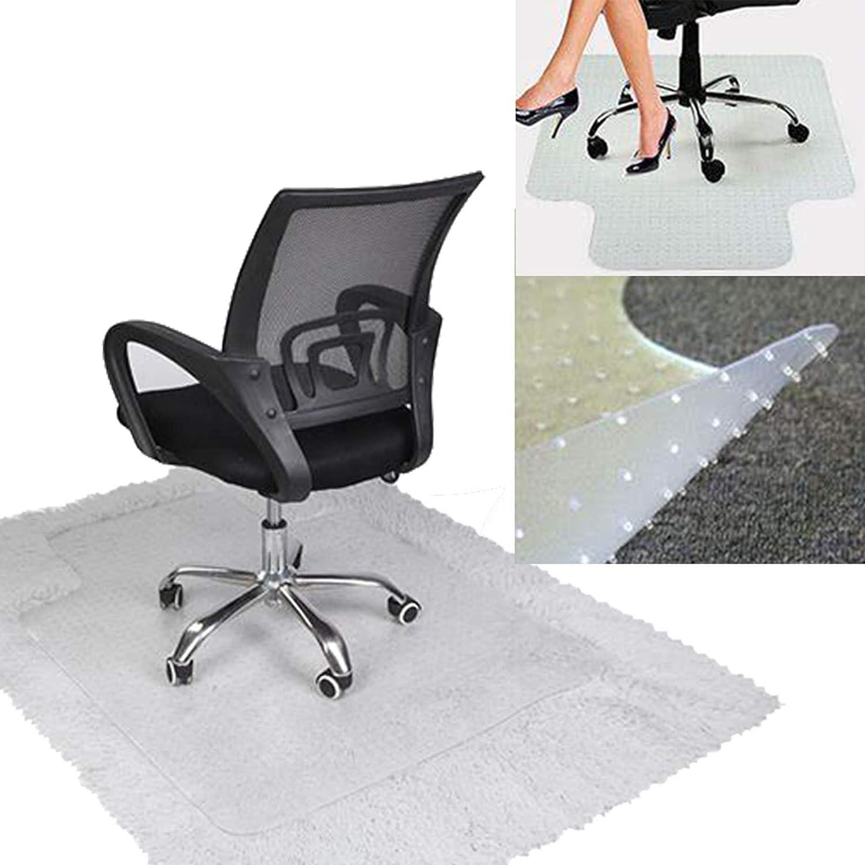 """Office Chair Mat for Carpet, Chair Mats for Carpeted Floors 35.43""""x 47.24"""" x 0.08"""" PVC Desk Chair Mat, Floor Mat for Office Chair Carpet with Nail for Home Chair Mat Office Mat"""