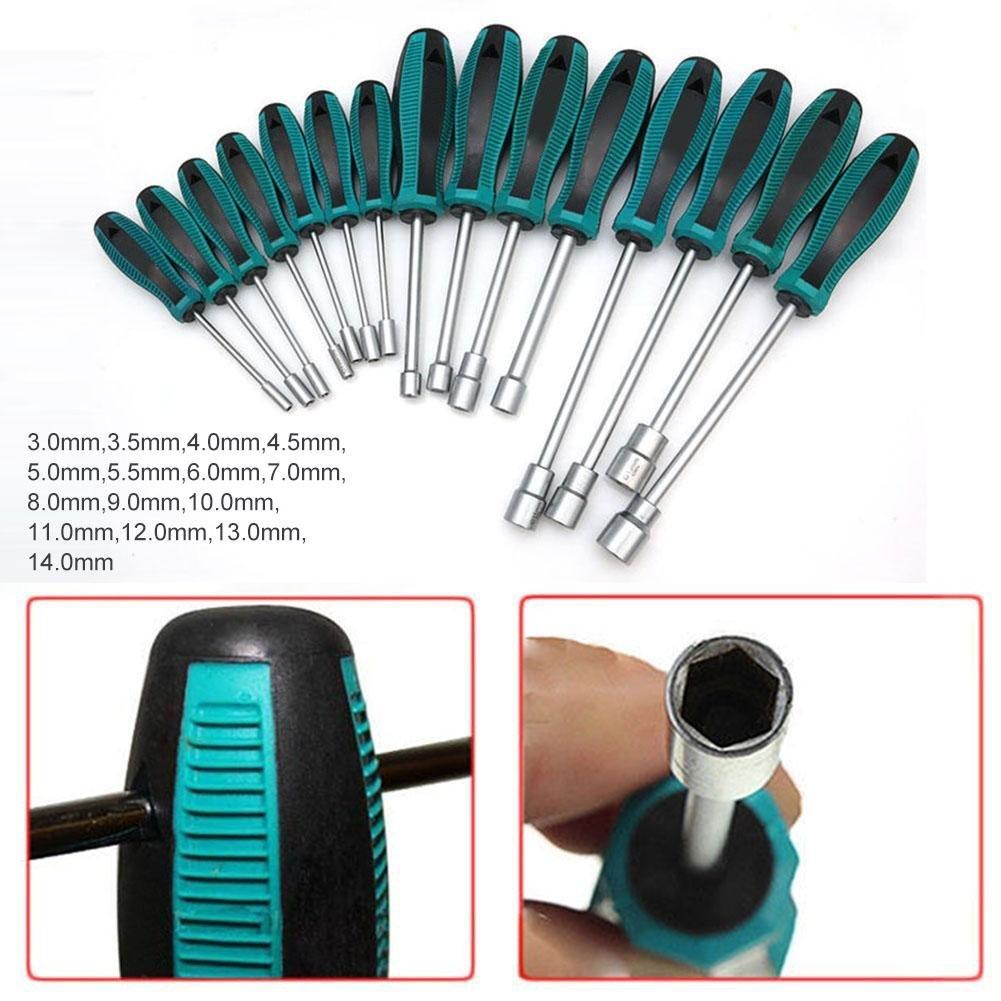 3.5mm Hexagon Tip Nut Hex Socket Wrench Screwdriver Repair Tool Nonslip Grip