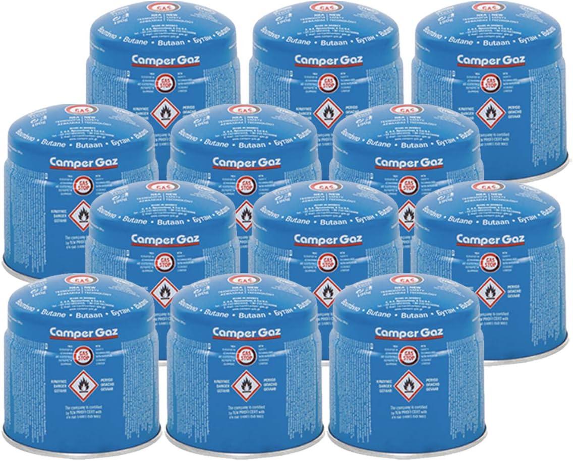 Camper Gas Butano - Lote de 12 cartuchos de gas de 190 g