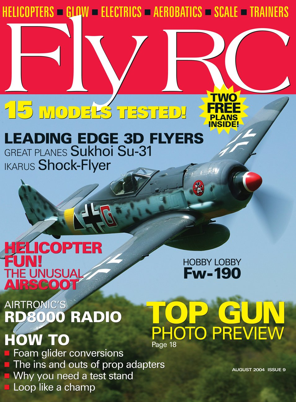 Fly RC Magazine -- August 2004 (Issue #9): Various: Amazon