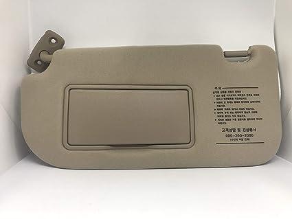 Amazon.com  Kia Motors Genuine Drive Inside Sun Visor Assembly 1-pc ... 9d25d1d972d
