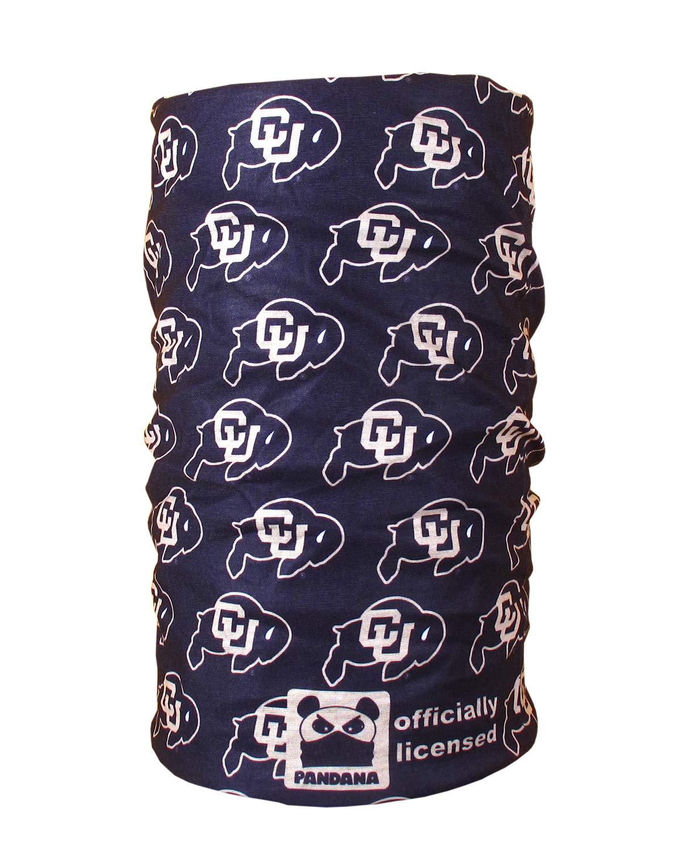 University of Colorado CU Buff Pandana Genuine Seamless Neck Gaiter Facemask Headband