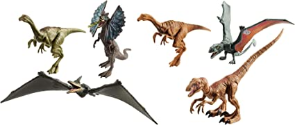 Amazon Com Jurassic World Legacy Collection 6 Pack Dinosaurs Toys Games It's now our responsibility to protect these magnificent creatures. jurassic world legacy collection 6 pack dinosaurs