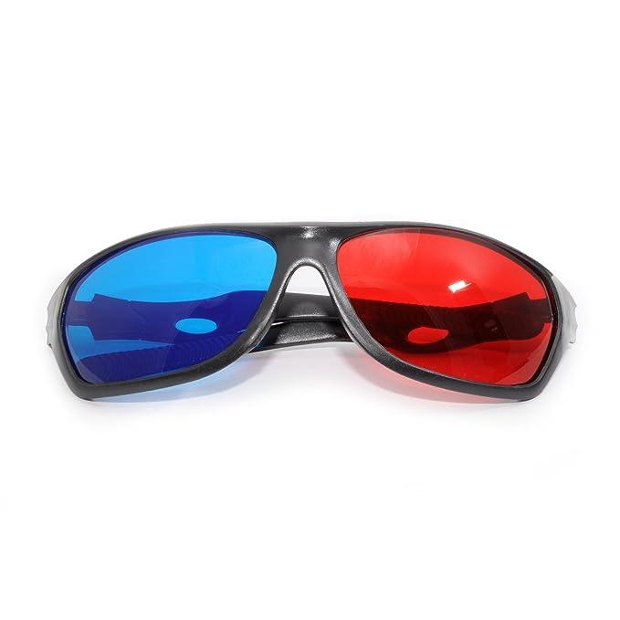 Pel/ículas Juegos 3D Vision Hombre Anaglifos TV Mujer Inception Pro Infinite Gafas Unisex Muy alta calidad