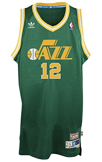 ... Amazon Utah Jazz 12 John Stockton NBA Soul Swingman Jersey 031ccbfcc