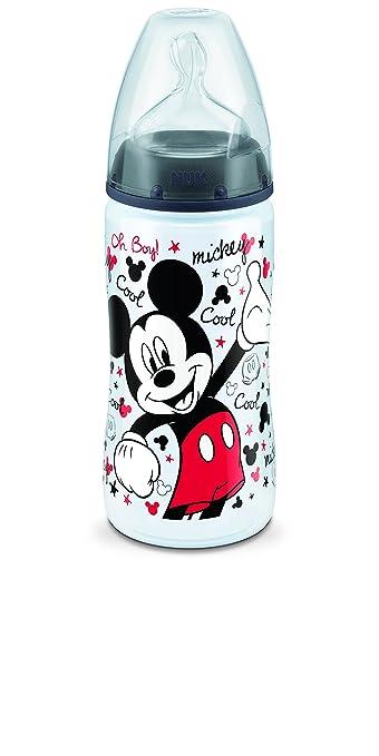 2 opinioni per Nuk Disney- Biberon con tettarella T2M, motivo Topolino, 300 ml