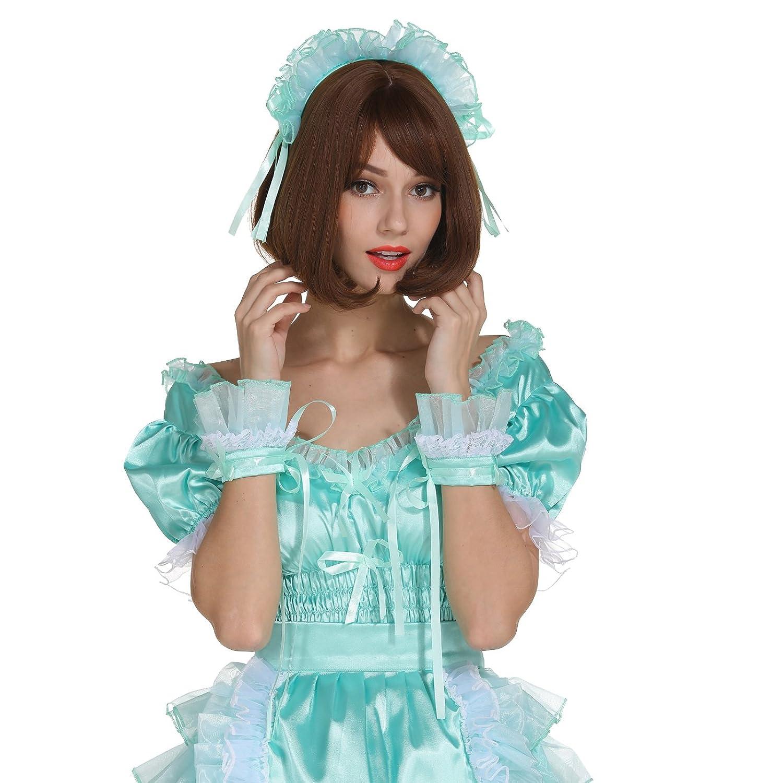 Amazon.com: GOceBaby Sissy Girl Maid Low Cut Dream Dress Puffy ...