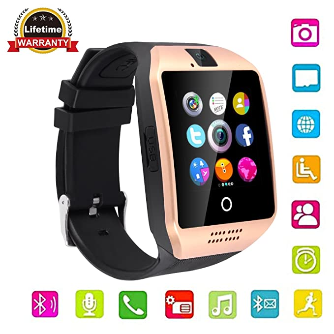 Bluetooth Smart Watch GT08 for Android/iPhone Smart Phones (Q18-golden)