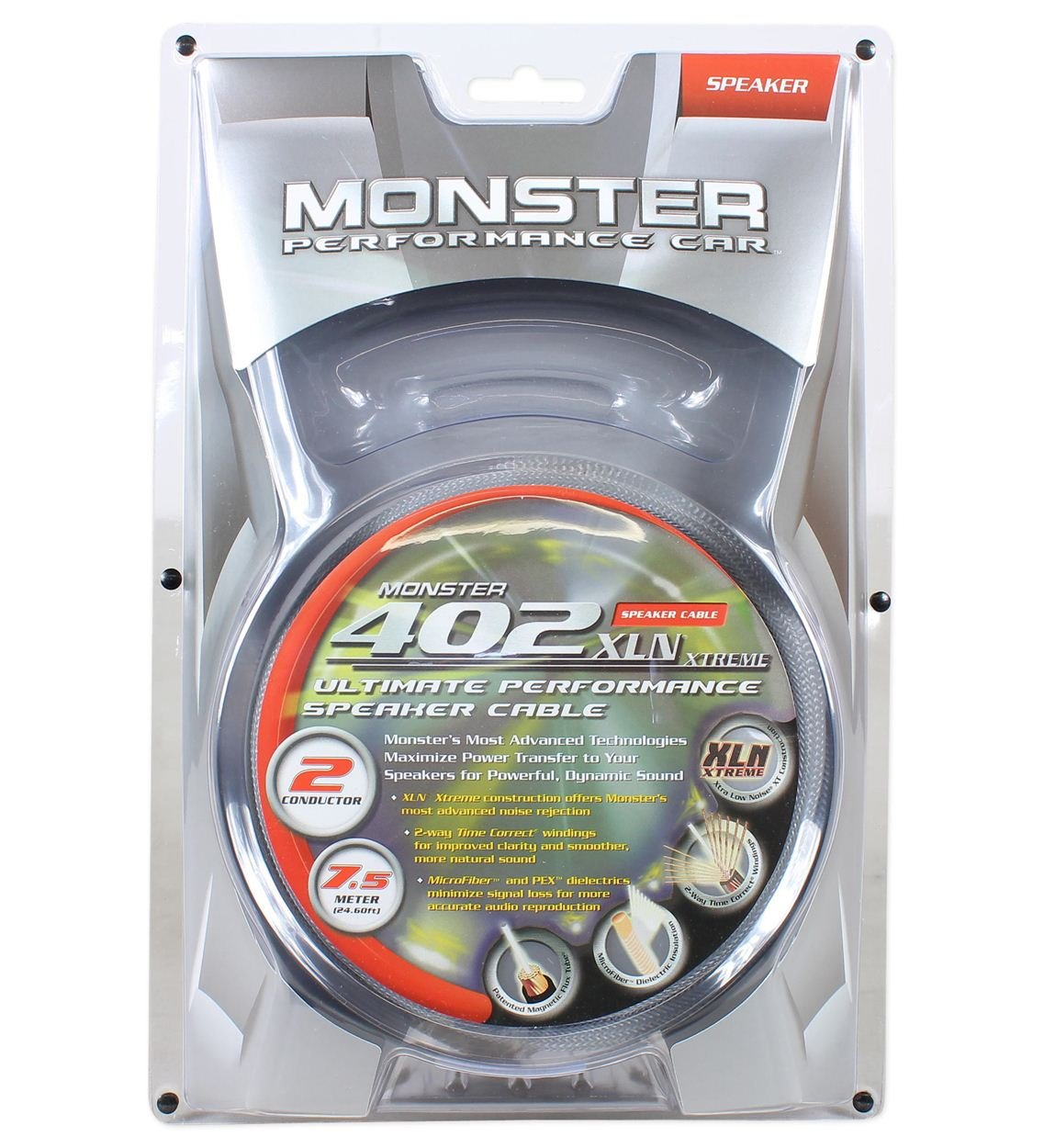 Amazon.com: Monster Cable MPC S402 2C-7.5M 7.5M 25\' Feet Audiophile ...