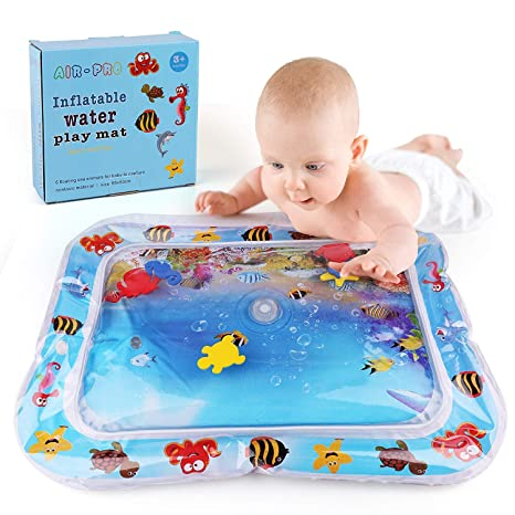 Baby Inflatable Water Play Mat UK Infants Toddlers Fun Tummy Time Play Activity