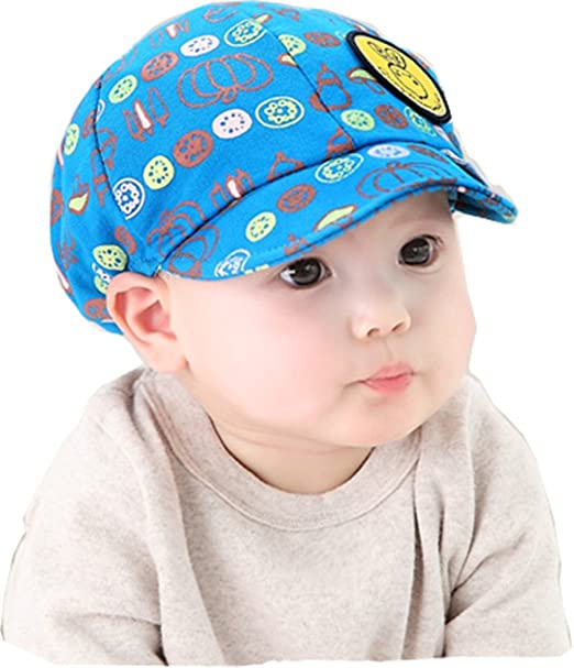 Amazon.com  Gzmm Baby Boy Girl Kid Toddler Infant Hat Peaked ... 0cdfd756e35