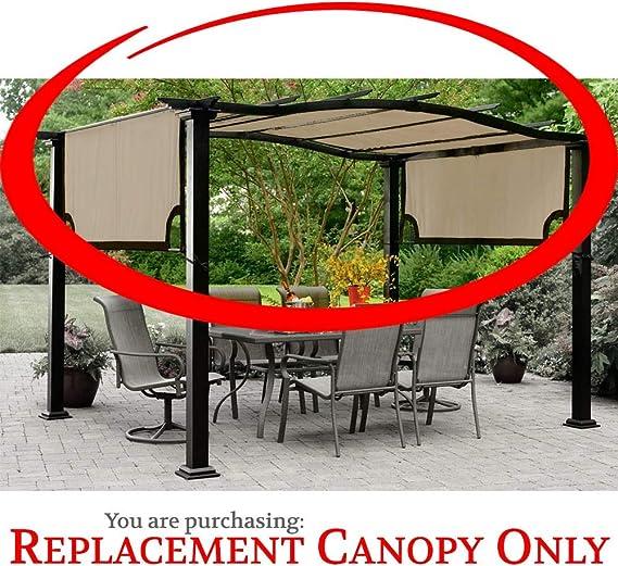 The Outdoor Patio Store Kmart Essential Garden - Toldo para pérgola curva (alta calidad, 300D): Amazon.es: Jardín