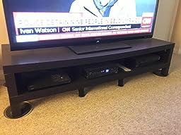 ikea tv bench stand unit black brown width depth height. Black Bedroom Furniture Sets. Home Design Ideas