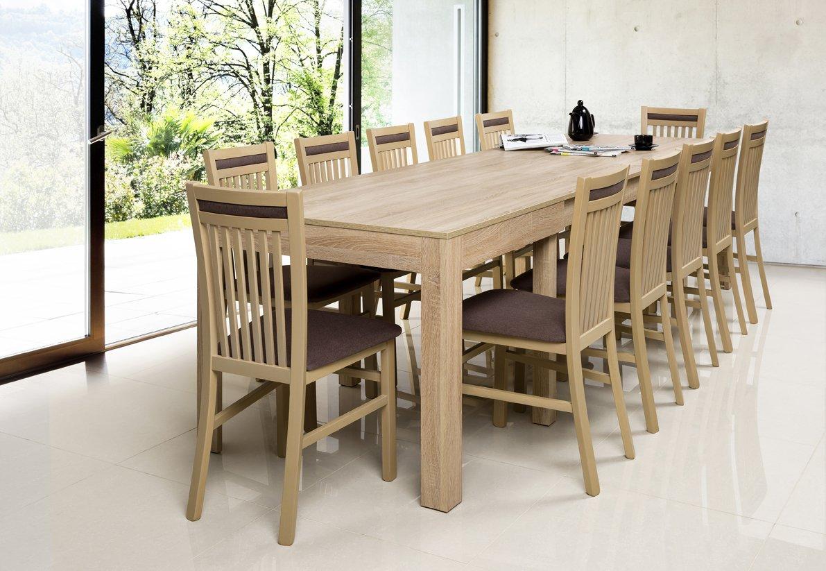 Tisch Küchentisch Esszimmertisch Esstisch WENUS ausziehbar 300 cm ...
