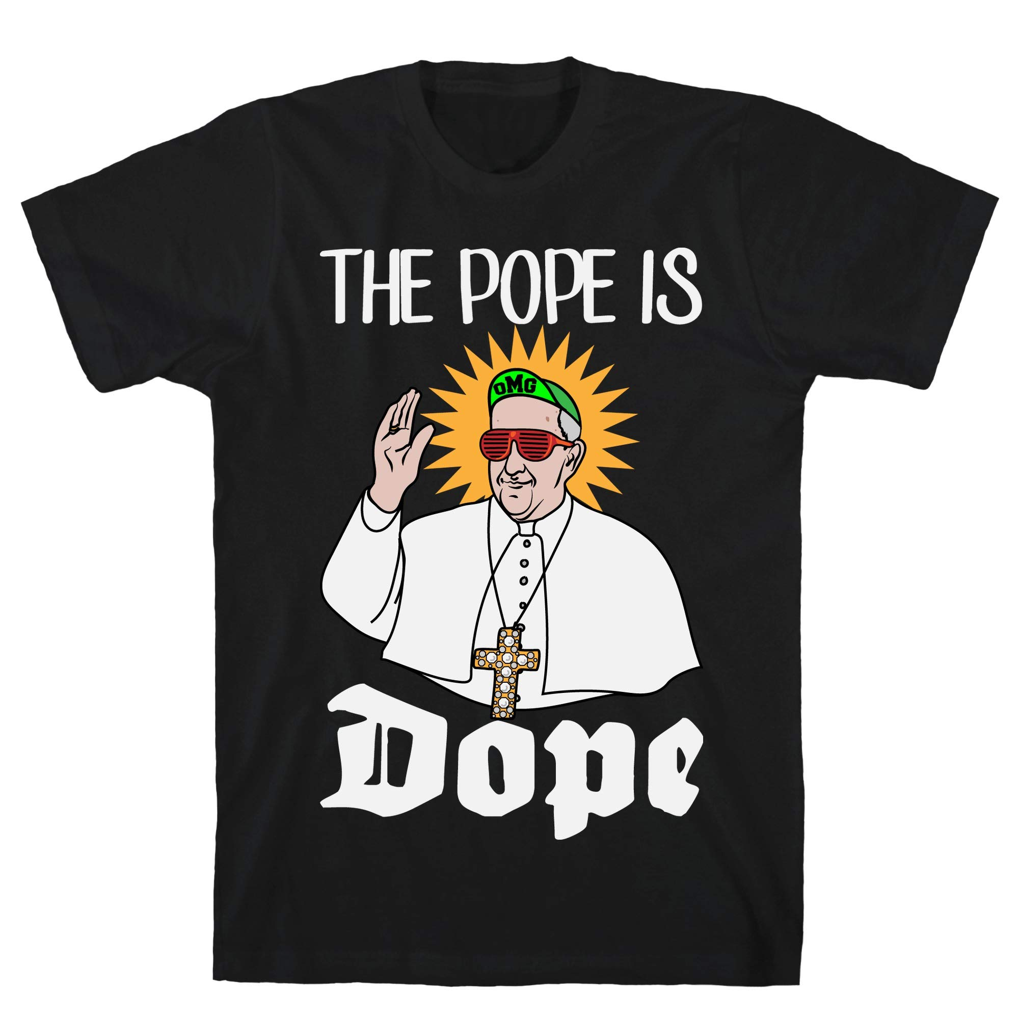 The Pope Is Dope Black S Ts Shirts