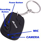 M MHB Keychain Camera With Hidden Audio /Video Recording Support (A) 32GB Memory