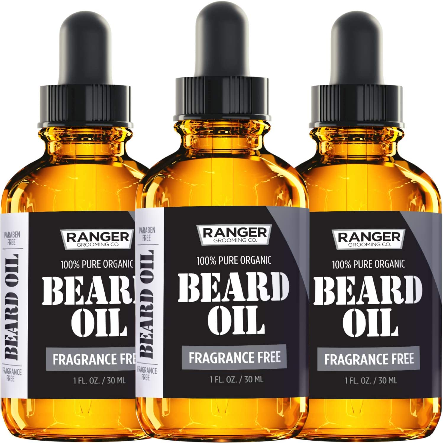 Fragrance-Free Beard Oil & Leave-In Conditioner by Ranger