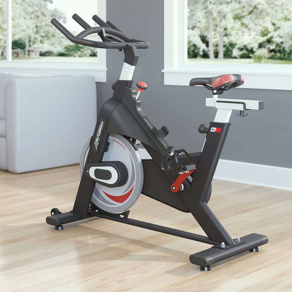 Life Fitness Ic1 Exercise Bikes Black Sports Outdoors