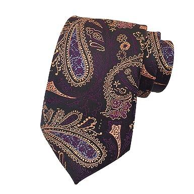 YILANLAN Corbata de patrón de hombre corbata de moda corbata de ...