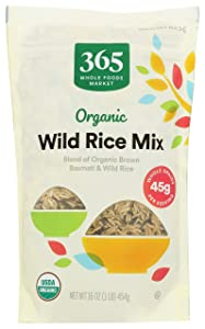 365 by Whole Foods Market, Organic Wild Rice Mix, 16 Ounce