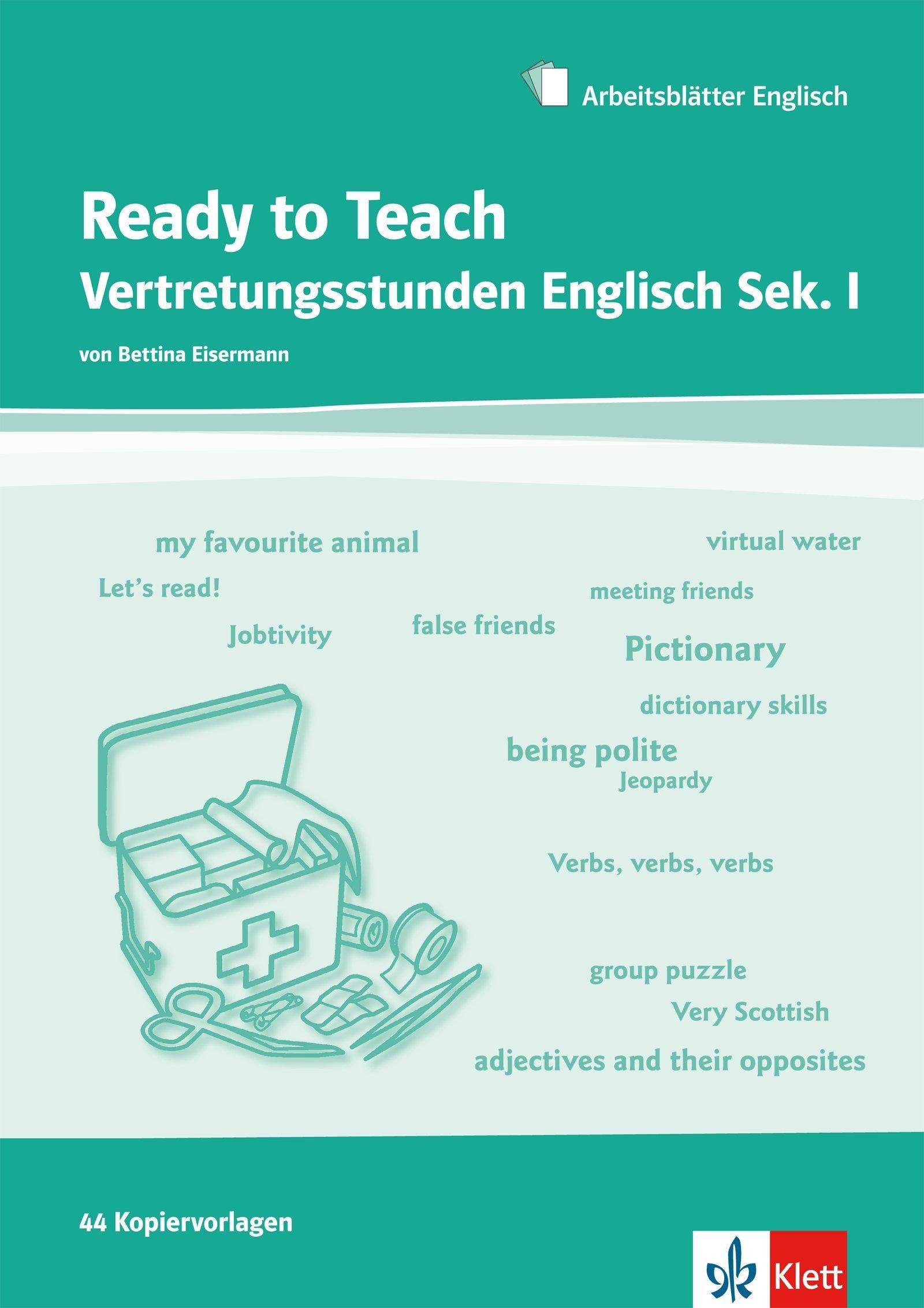 Ready to Teach: Vertretungsstunden Englisch Sekundarstufe 1: Amazon ...